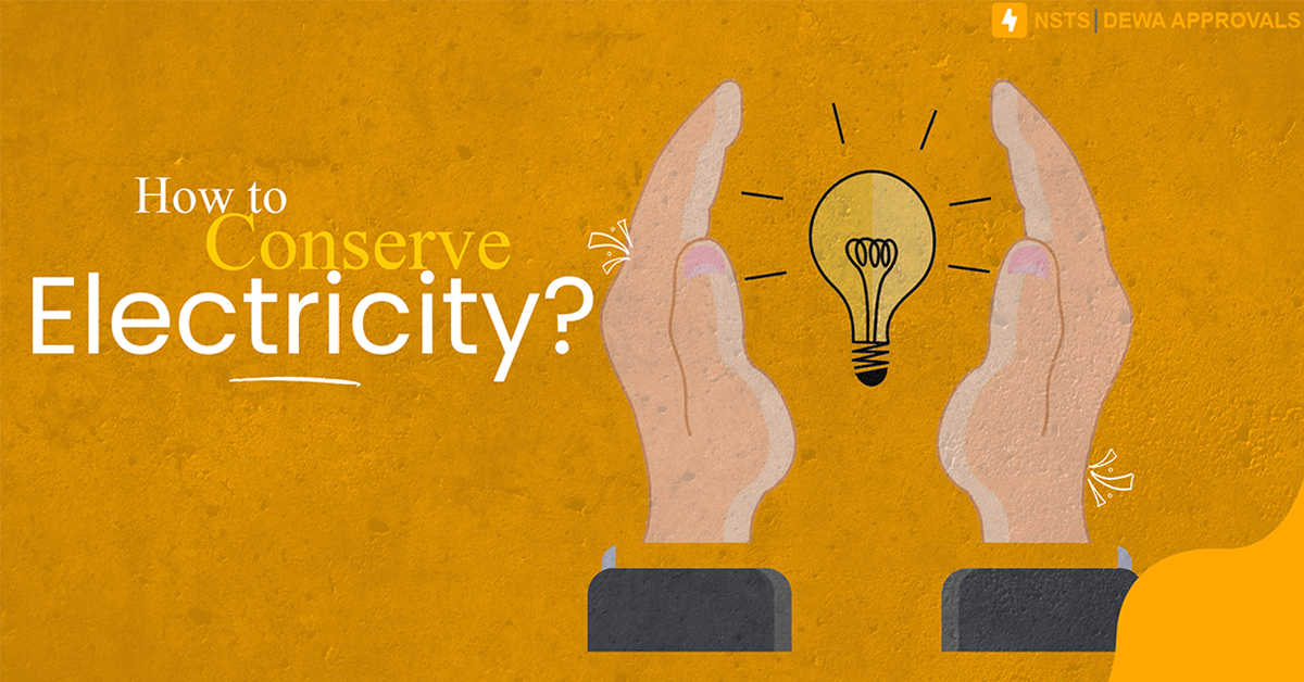 How to conserve electricity?