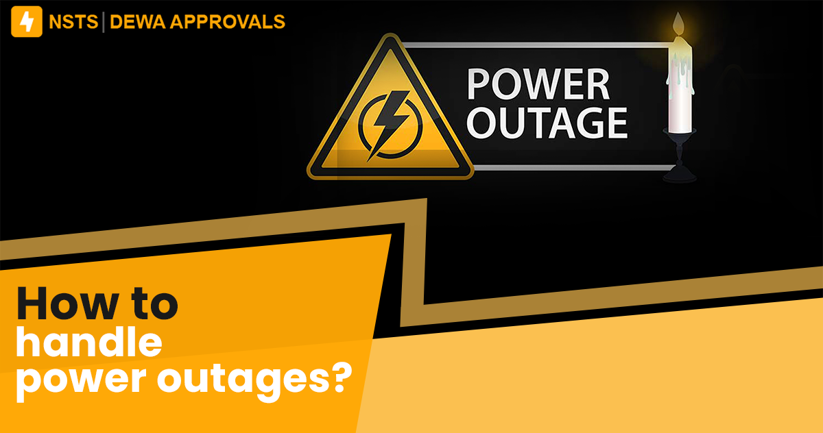 How to handle power outages?