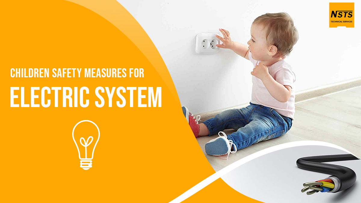 Children safety measures for electric system